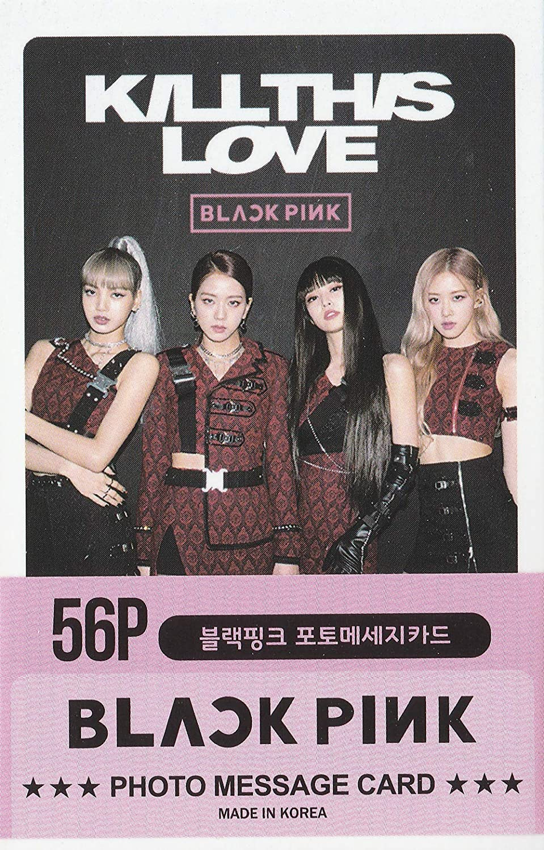 BLACKPINK Postcard 56 unidades