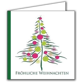 Weihnachtskarten Beschriften Kostenlos.Weihnachtskarten Set Mit Umschlag 20 Stück Für Familie Freunde Firmen Geschäftlich Gratis Hochwertige Umschläge Klappkarten Business Stückzahl