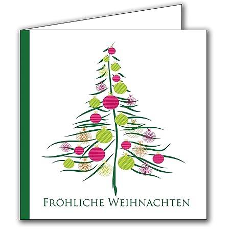 Weihnachtskarten Set Mit Umschlag 20 Stück Für Familie Freunde