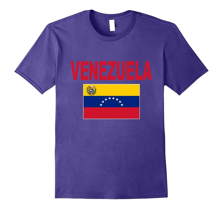 Venezuela Flag T-Shirt Unisex Venezuelan Pride Fashion Tee-Vaci