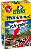ETISSO® 1319-789 Wühlmaus-Riegel 180g (18x10g) schützt zuverlässig Gemüse, Obst und Zierpflanzen