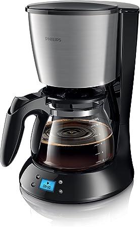 Philips HD7459/20 - Cafetera de goteo, 1.2 L, color negro: Amazon.es: Hogar