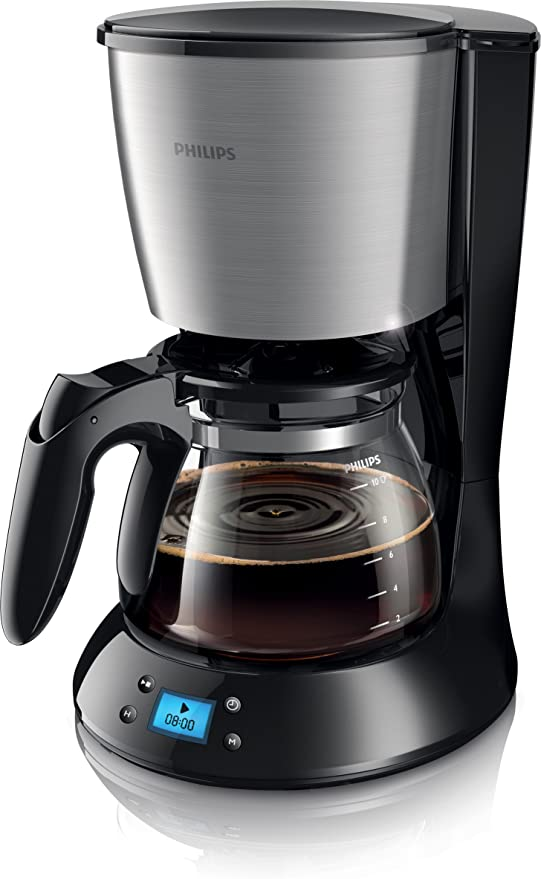 Philips HD7459/20 - Cafetera de goteo, 1.2 L, color negro: Amazon ...