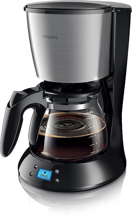 Philips HD7459/20 - Cafetera de goteo, 1.2 L, color negro