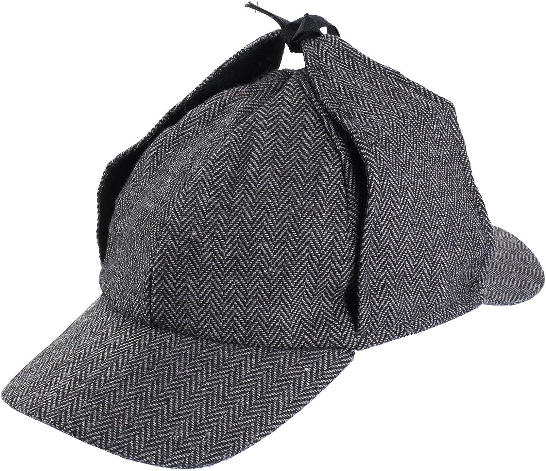 SHERLOCK HOLMES HAT COSTUME DETECTIVE COSTUME PROP