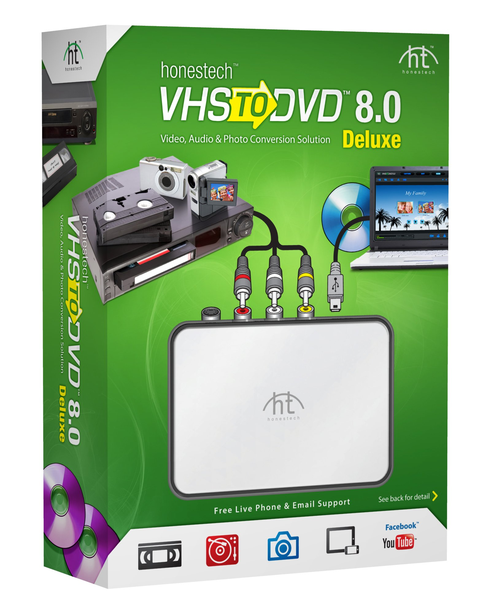 VIDBOX VHS to DVD 8.0 Deluxe by VIDBOX