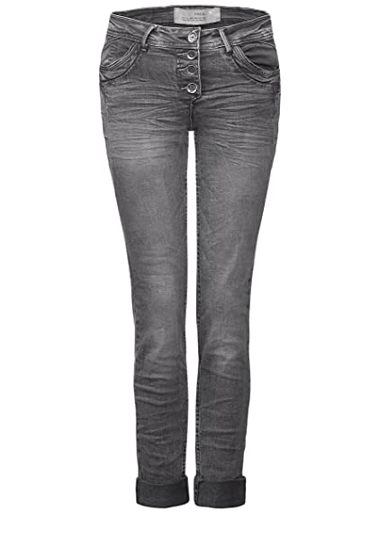 Cecil B370385 - Pantalones vaqueros para mujer de color gris ...