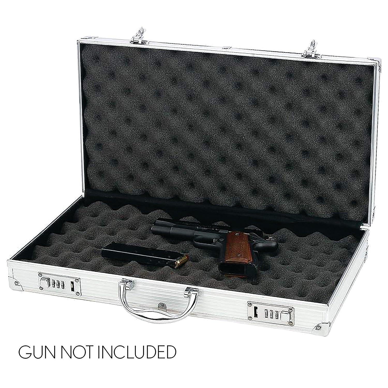 Classic Safari Aluminum Framed Gun Case Luxury Home SPPC3