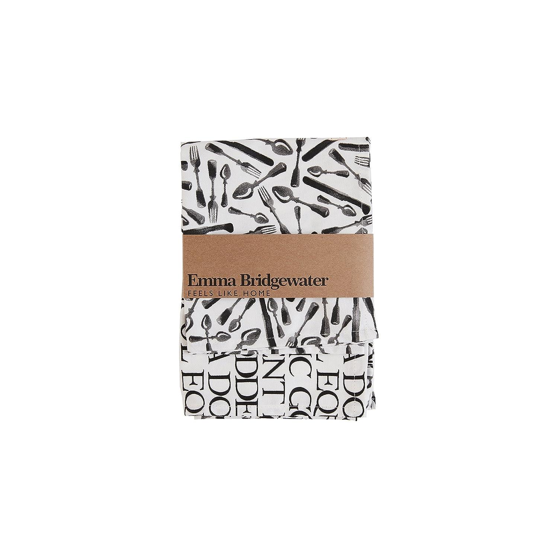 EMMA BRIDGEWATER Textiles - Tea Towels 70x46cm Knives & Forks - Set of 2