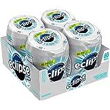 Eclipse Polar Ice Sugarfree Gum, 60 Piece Bottle (Pack of 4)