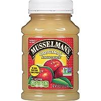 Musselmans Original Sweetened Applesauce, 24 Ounce (Pack of 12)