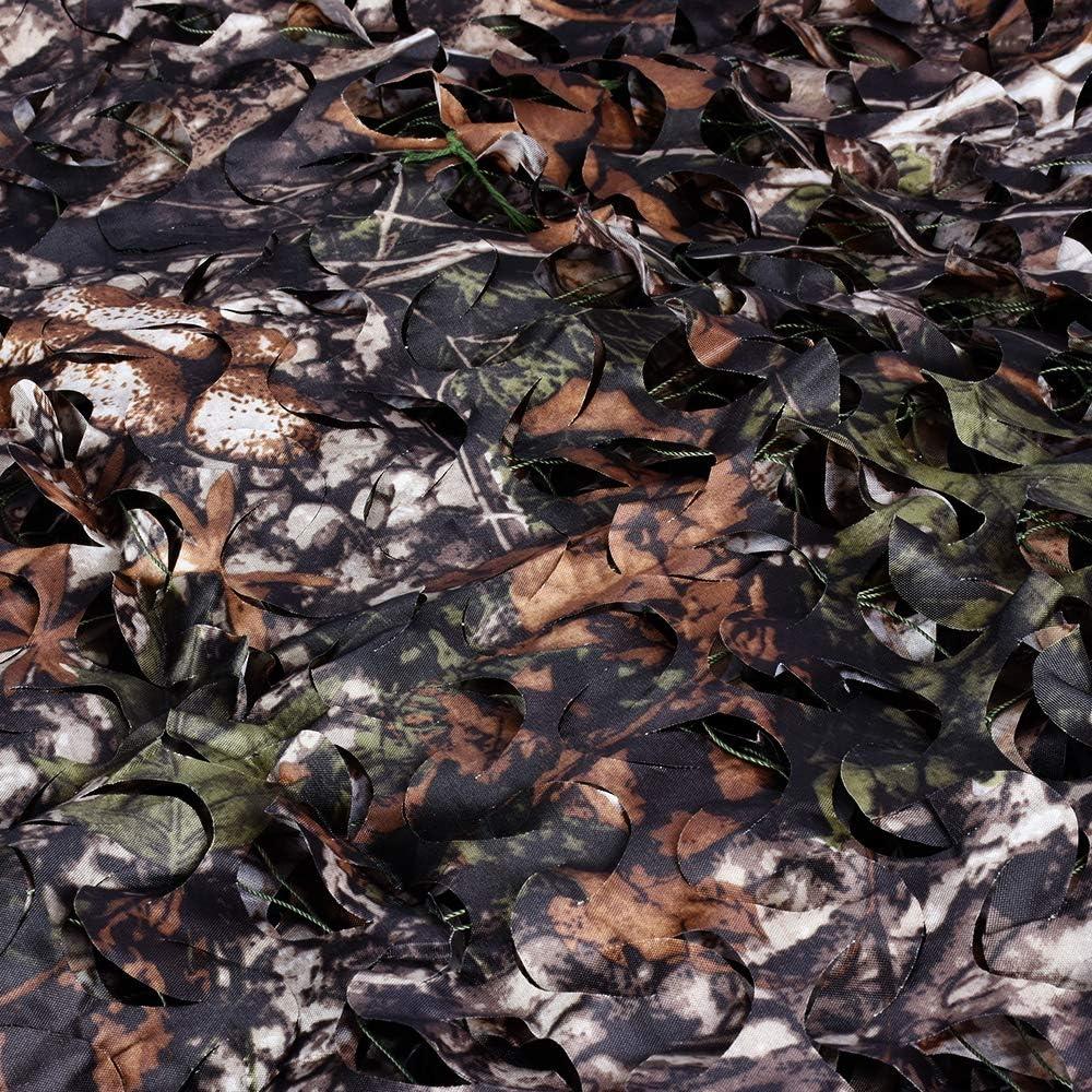 Camouflage Deko Sonnenschutz Tarnung f/ür Freizeit Camping Bars Jagd LOOGU Tarnnetz Sichtschutz Verschiedene Designs und Gr/ö/ßen