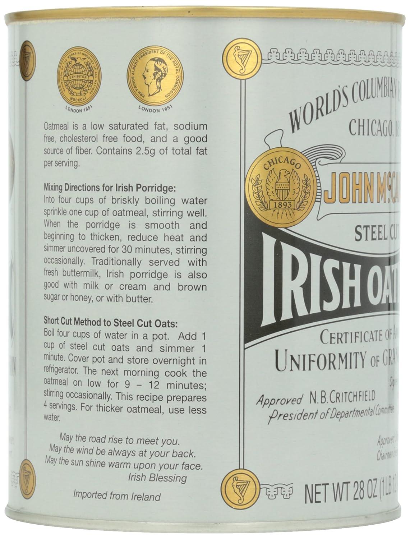 McCann\'s Irish Oatmeal Tin, 793 g: Amazon.co.uk: Grocery