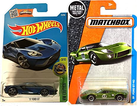 Hot Wheels Ford Gt New Model Factory Exotics Blue  Ford