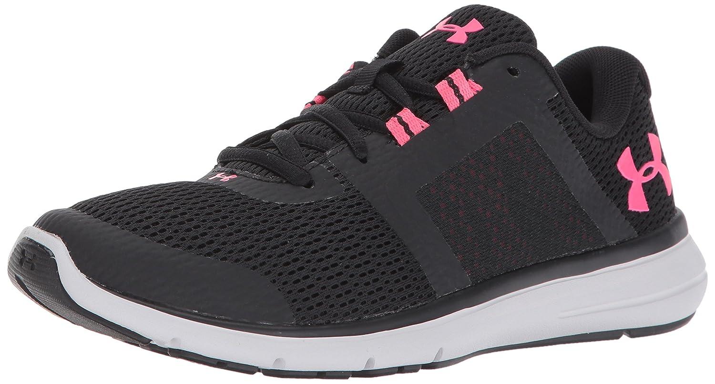 Under Armour Women's Fuse FST Cross-Country Running Shoe B01N79LZY7 7 M US|Black (002)/Glacier Gray