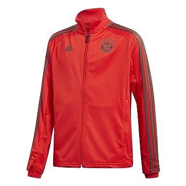 adidas Kinder 1819 Fc Bayern Training Jacket Trainingsjacke