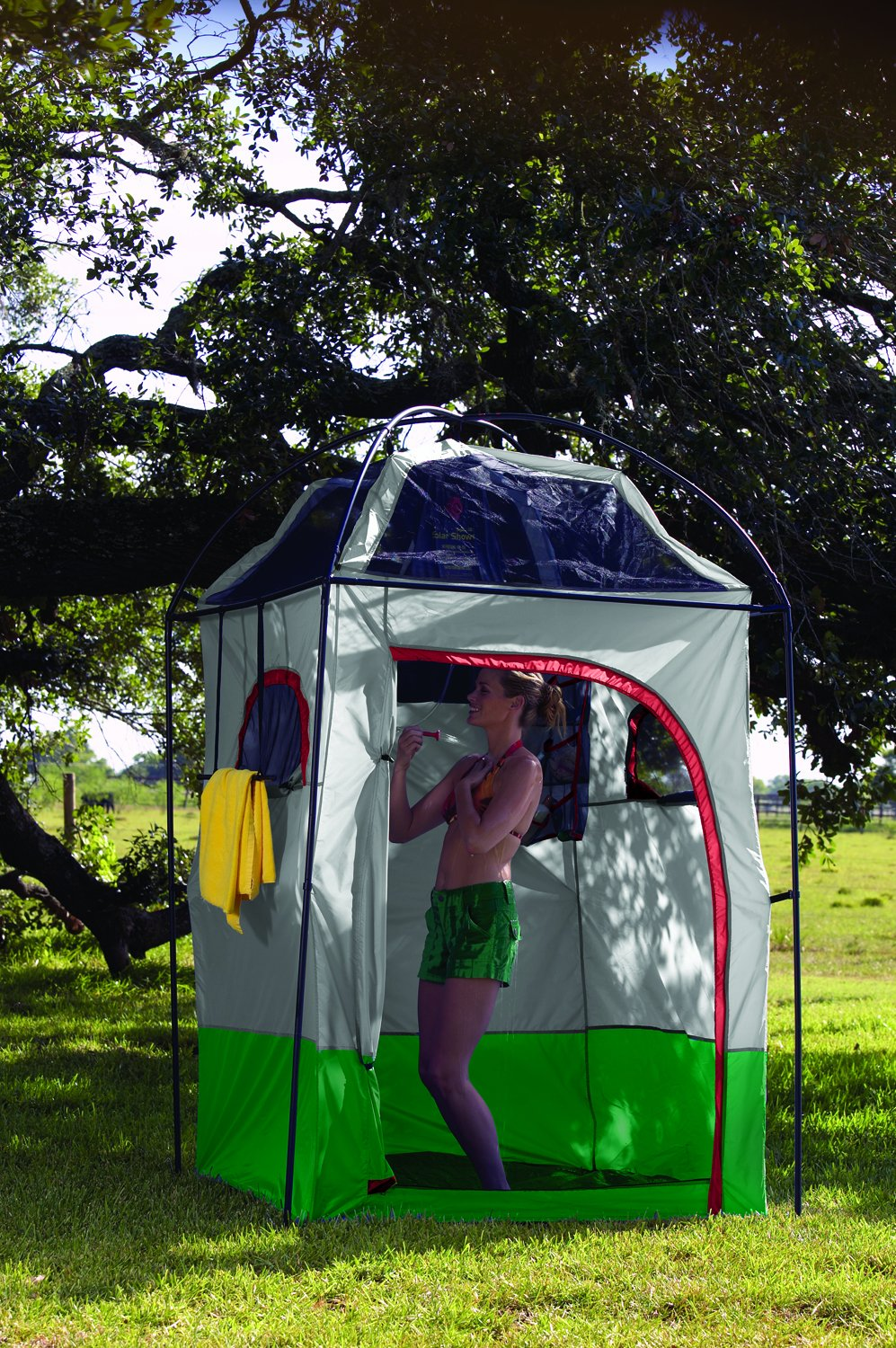 Amazon.com Texsport Instant Portable Outdoor C&ing Shower Privacy Shelter Changing Room Sports u0026 Outdoors & Amazon.com: Texsport Instant Portable Outdoor Camping Shower ...