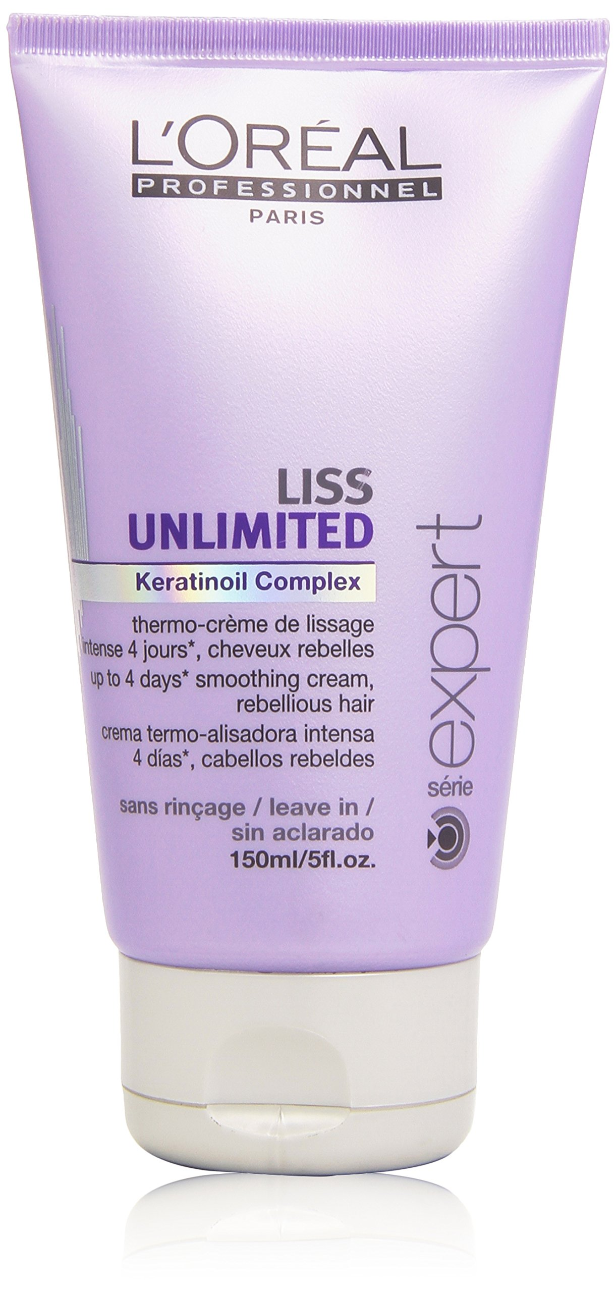LOreal Professional Serie Expert Liss Unlimited Keratinoil Complex Cream, 5 Ounce