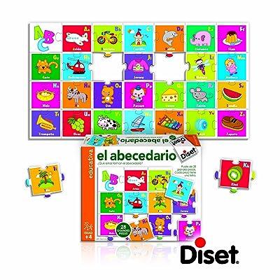 Diset 63732 - El Abecedario: Juguetes y juegos
