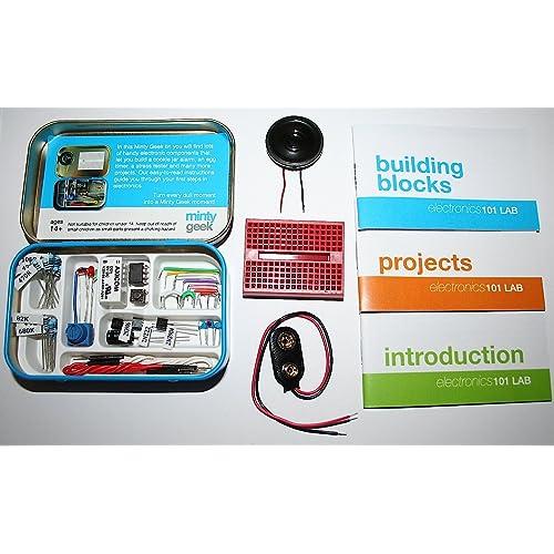 Electronics kits amazon minty geek electronics lab 101 kit solutioingenieria Gallery