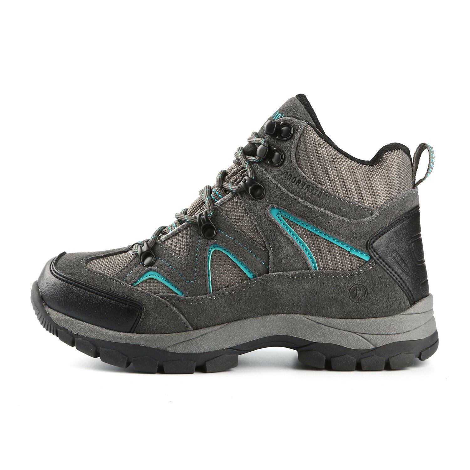 Northside Women's Snohomish Waterproof Hiking Boot B0737QH6T6 8.5 B(M) US|Dk Gray/Dk Turquoise