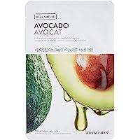 The Face Shop Real Nature Avocado Face Mask Sheet 20 G, 20 g