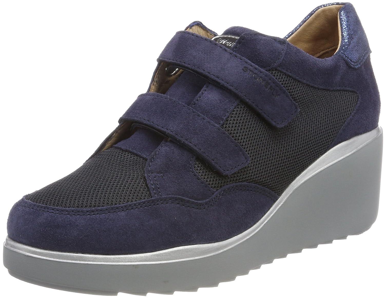 Stonefly Eclipse 8 Vel/Mesh, Zapatos con Plataforma para Mujer 39 EU