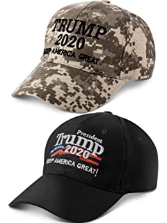 6394896a5c3f4d The Hat Depot Trump 2020 President Keep America Great Flag Cotton 3D ...