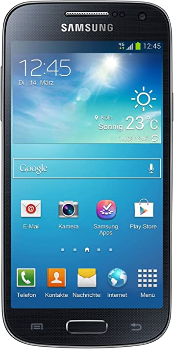 Samsung Galaxy S4 Mini - Smartphone (109.2 mm (4.3 pulgadas), 540 x 960 Pixeles, SAMOLED, 1.7 GHz, microSD (TransFlash), 8 GB) negro (Reacondicionado): Amazon.es: Electrónica