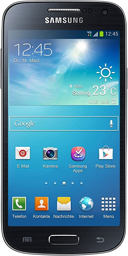 Samsung Galaxy S4 Mini - Smartphone (109.2 mm (4.3 pulgadas), 540 x 960 Pixeles, SAMOLED, 1.7 GHz, microSD (TransFlash), 8 GB) negro (Reacondicionado): Amazon.es: Electrónica