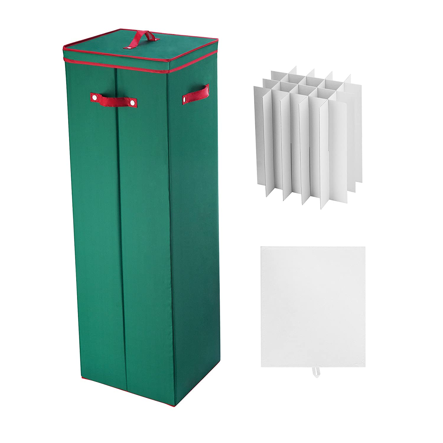 Amazon.com: 40 in. Tall Wrapping Paper Storage Box in Green: Home ...