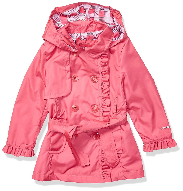 47384907fb5 Amazon.com: London Fog Girls Lightweight Trench Coat: Clothing