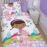 Doc McStuffins - Reversible Duvet Set Doc Love 135 x 200cm