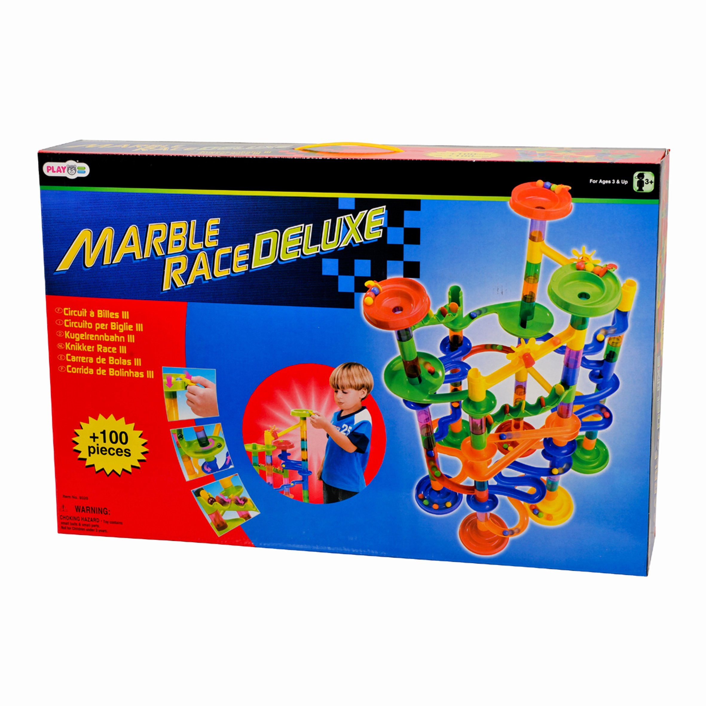 PlayGo Marble Race Deluxe Building, 100-Piece by PlayGo (Image #3)