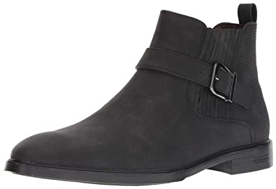 GUESS Mens CORIO Chelsea Boot Brown 7.5 ...