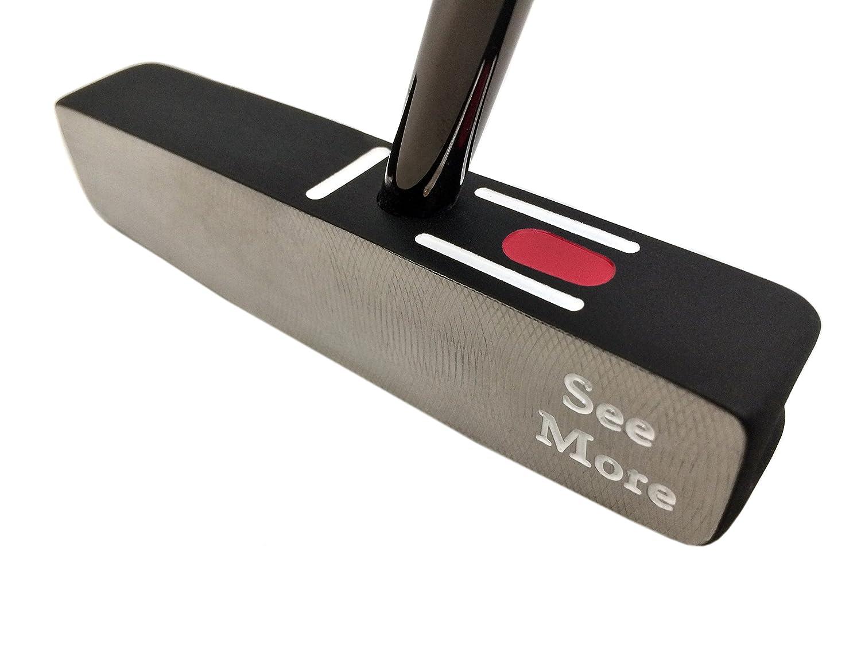 Seemore Counterbalanced FGPオリジナルゴルフパター、37インチ、スチール、2.5度、Uniflex、右 B00YTRBDBU