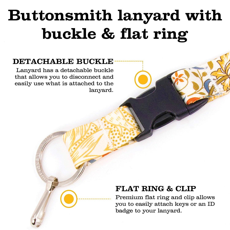 Amazon.com: Buttonsmith Hokusai Waves – Cordón personalizado ...