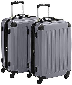 HAUPTSTADTKOFFER Sets de bagages, 65 cm, 148 L, Argent