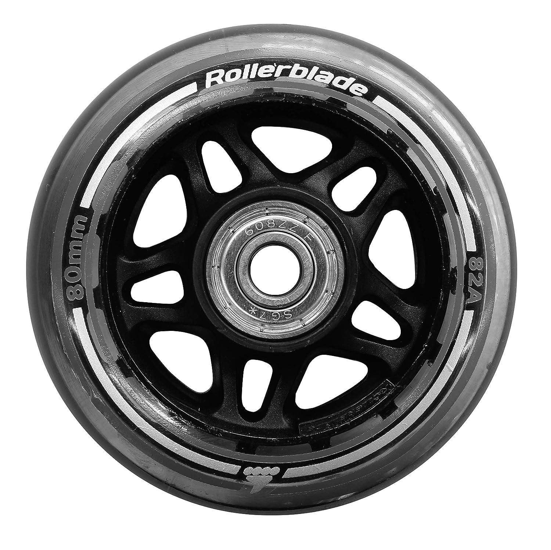 Rollerblade Unisex - Adultos 80/82A Pack+SG7+8MMSP (8PCS) Wheels, Neutral, Unica