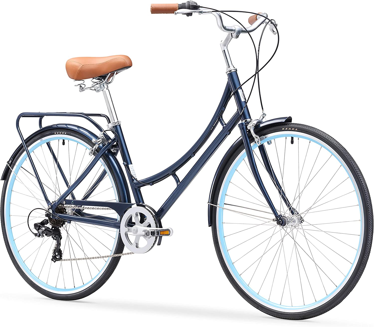 Best Touring Bikes: sixthreezero Ride-in-the-Park Women's City Road Bicycle