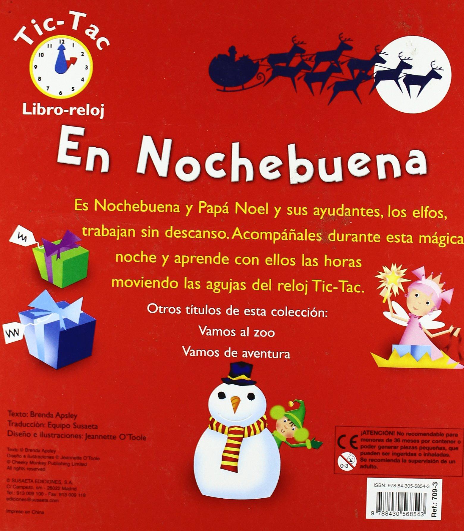 EN NOCHEBUENA (LIBRO-RELOJ: Susaeta Ediciones: 9788430568543: Amazon.com: Books