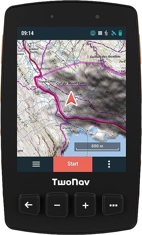 TwoNav - Trail 2 GPS para Senderismo con Pantalla de 3.7