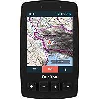 """TwoNav - Trail 2 GPS pour la Randonnée Pédestre avec Écran de 3.7"""" Gorilla Glass, Grande Autonomie et Résistance aux Températures et aux Impacts, Glonass + Galileo, Couleur Orange"""