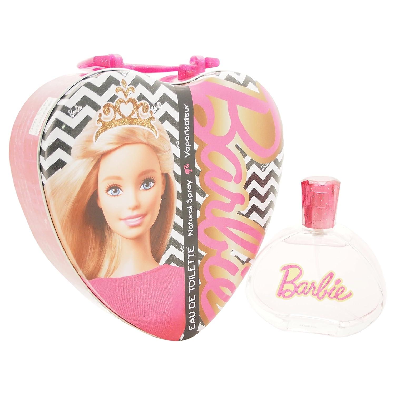 Air Val Barbie Geschenk-Set Herz-Metallkoffer, 1er Pack (1 x 100 ml) Air-Val P6165
