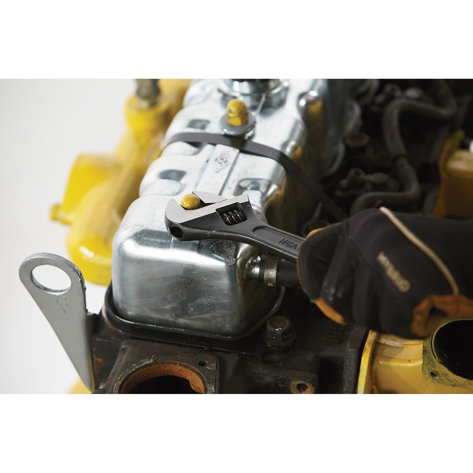 Klutch 4-Pc. Adjustable Wrench Set by Klutch