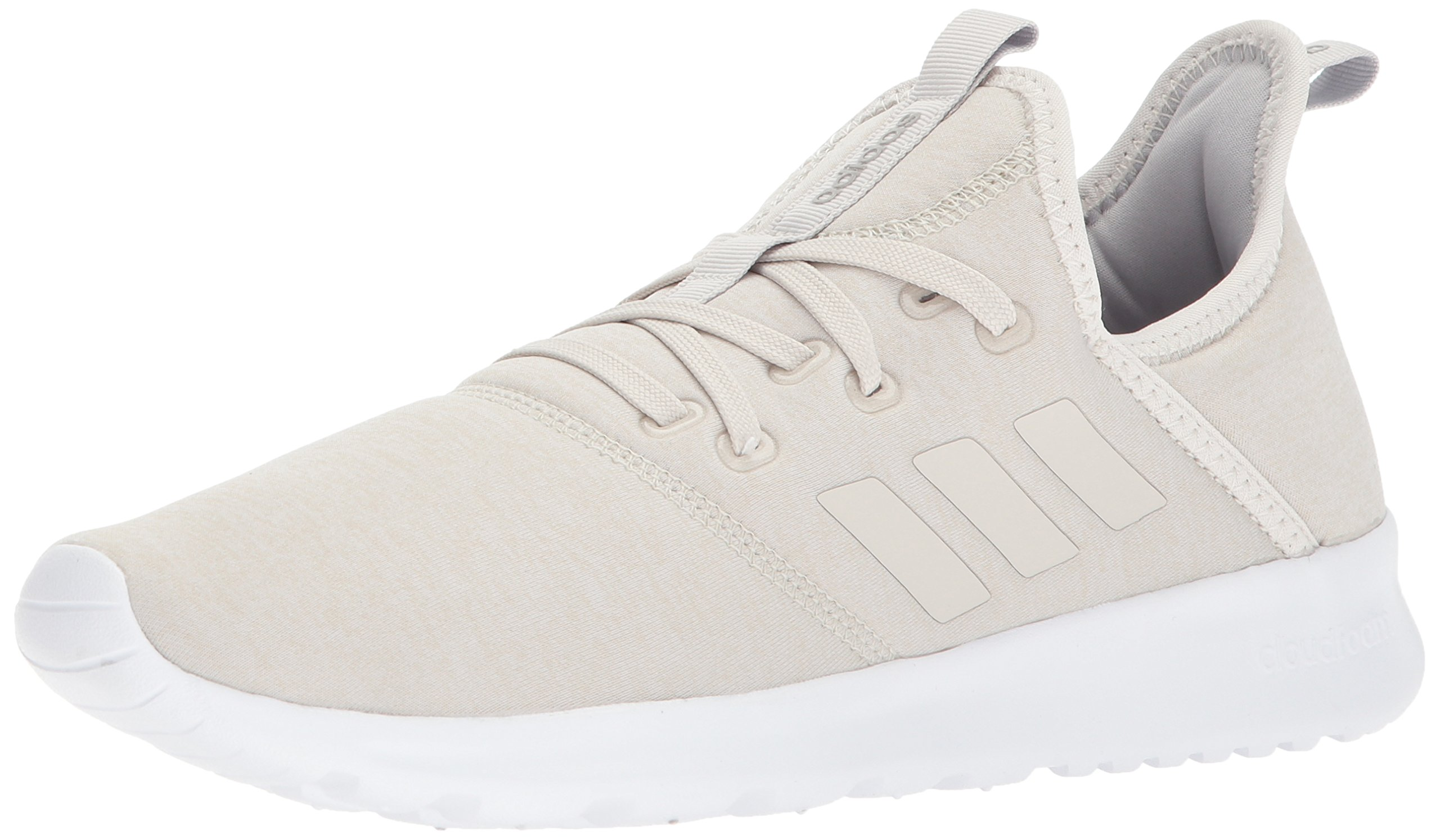 adidas Women's Cloudfoam Pure, Crystal White/Crystal White/Talc, 11 M US