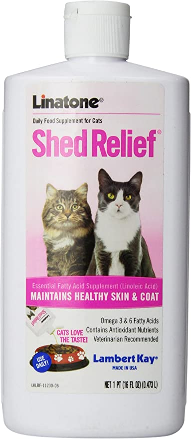 Linatone Shed Relief Skin/Coat Liquid Supplement for Dog/Cat