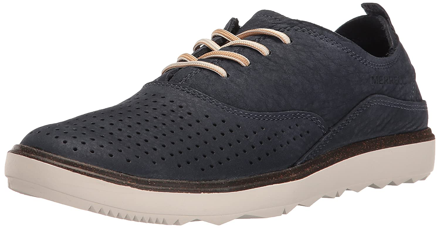 Merrell Women's Around Town Lace Air Fashion Sneaker B01HHIASMM 9.5 B(M) US|Navy
