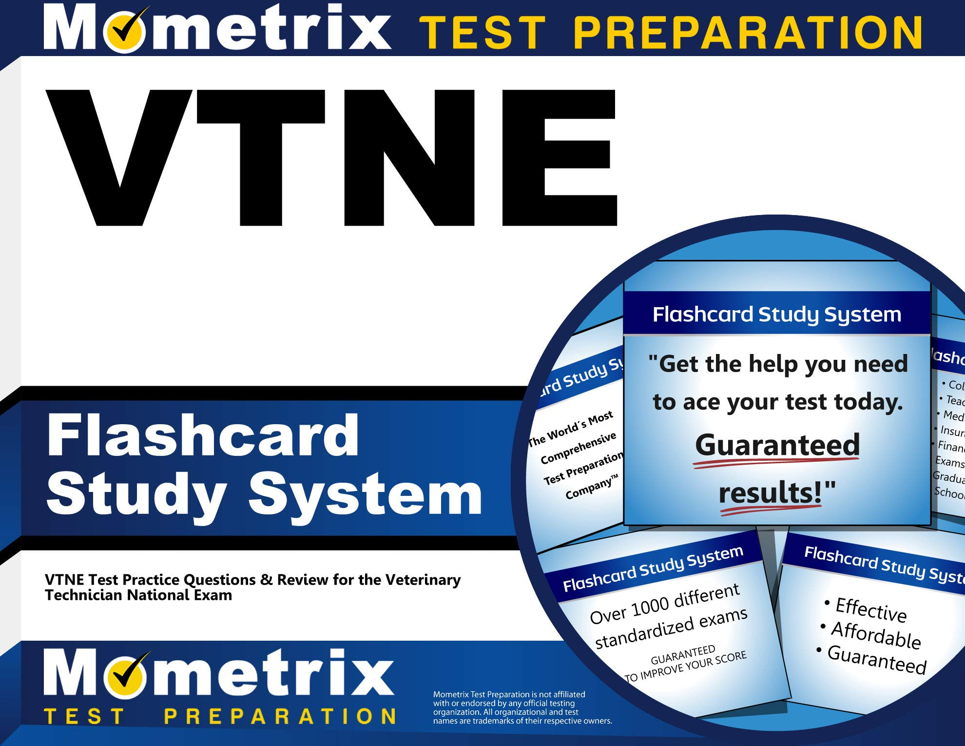 VTNE Flashcard Study System: VTNE Test Practice Questions & Review for the Veterinary Technician National Exam (Cards) by Mometrix Media LLC