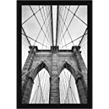 Americanflat 20x30 inch Black Poster Frame | Polished Plexiglass. Hanging Hardware Included!